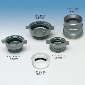 """002509 riduzione pp ø1.1/2fx1.1/4""""m metall. 9.0086.02 - In PP a innesto"""