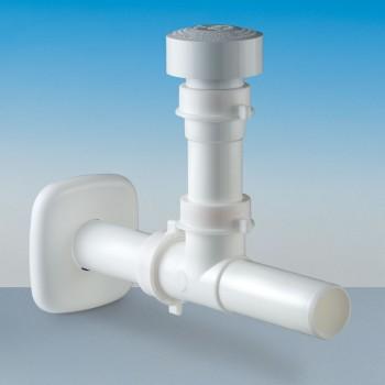 Glu-glu stop valvola aerazione ø40 bianco A.1500.01 - Accessori in plastica
