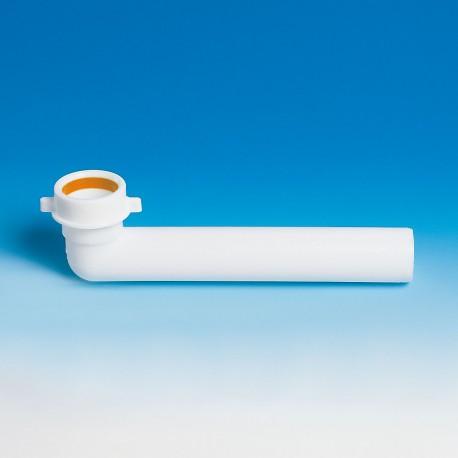 jolly 002424 prol. Curva ø40x1.1/2 l.230 bianco 8.2424.07 - Accessori in plastica