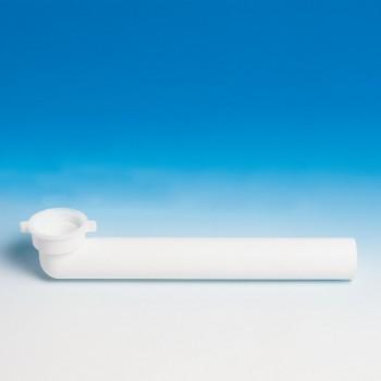 Jolly 002431 prol. Curva ø40x1.1/2 l.280 bianco 8.2431.01 - Accessori in plastica