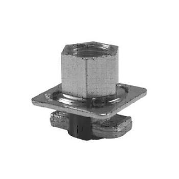 Piastra autobloccante con alette in plastica - QCN - M10 1391031
