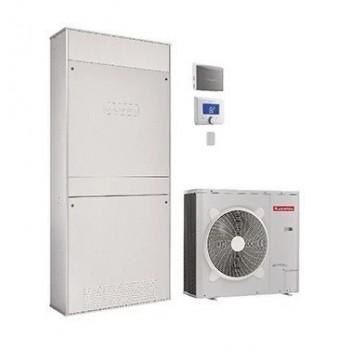 GENUS HYBRID FLEX IN NET 25/6 Sistema ibrido ad incasso con caldaia a condensazione e pompa di calore aria/acqua per il risca...