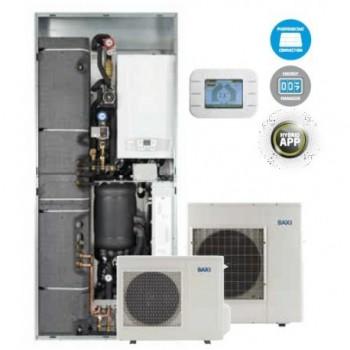 Sistema ibrido Baxi CSI IN 6 Idro H Wi-Fi pompa di calore e caldaia con Wi-Fi 7708637 - Sistemi Ibridi