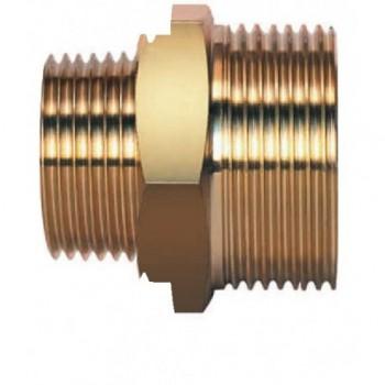 Niples ridotto M G 3/4 X M R 1/2 x tubo DN15 AISI304-316L (W-S-G) A03-0010-00797 - In ottone filettati