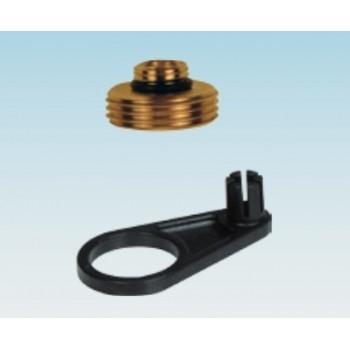 "Kit adattatore 1/4"" - 3/4"" + chiave SKY K016G425 - Accessori per valvole / rubinetti"