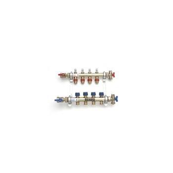 """COLL. PREMONTATO HKV-D 10 d1"""" C/FLUSSOM. 12401011004 - Collettori di distribuzione"""
