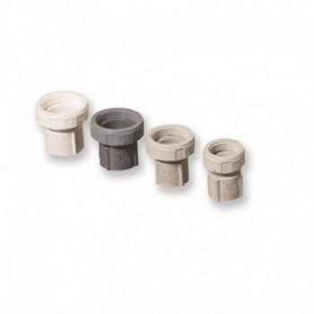 """Dado girevole filetto F 1""""1/4 Per tubo diametro mm.25x31 427002PB1""""1/4"""
