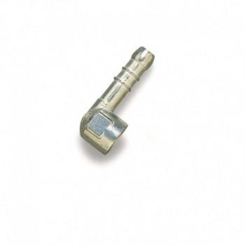 """PORTAGOMMA SQUADRA 1/2"""" TIPO UNI 7141 PER METANO - Misure:F 1/2"""" Diametro mm.14 644602ZA1/2"""" - Accessori per reti gas"""