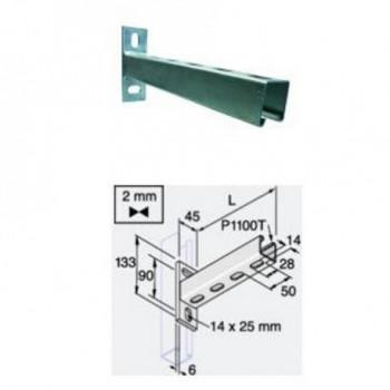 MENSOLA L.450mm Zincat. Elettrol. P2773T4505
