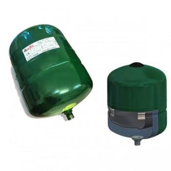 Vaso di espansione polifunzionale DP 18 litri a membrana fissa con guaina protettiva per acqua sanitaria o riscaldamento A2C2L24