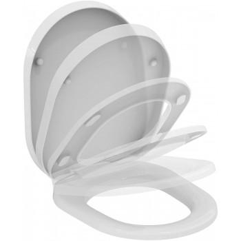 TONIC sedile wc a chiusura rallentata bianco europa K706101 - Sedili per WC
