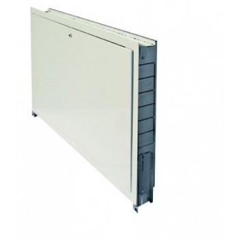 110750 cassetta da incasso L.1000 in metallo zincato con sportello bianco zincato 1000-750-110 - Collettori per pannelli radi...