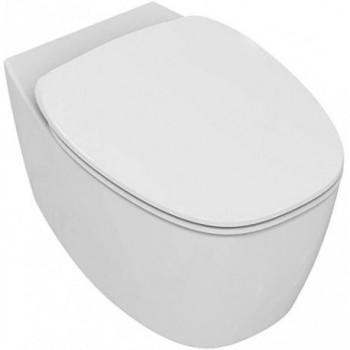 Wc sospeso con sedile Ideal Standard DEA bianco T329101