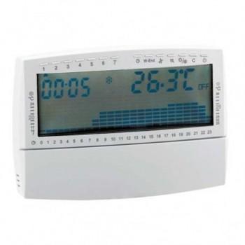 739 Cronotermostato ambiente digitale con alimentazione a batteria 135 x 90 x 28 mm 739107 - Cronotermostati