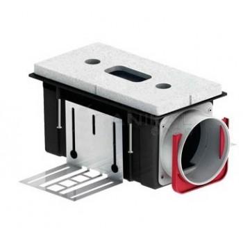 BOCCHETTA CLD-K 90 - DIM. 224 X 118 X 115 MM CONNESSIONE SU 990320845 - Ventilazione