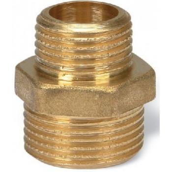 245/OT - Nipples M/M ridotto, Misura: 3/4 x 1 06440605C - In ottone filettati