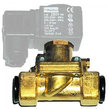 Elettrovalvola per acqua mod. 7321B PARKER NC Ø 1, senza bobina 00000503448