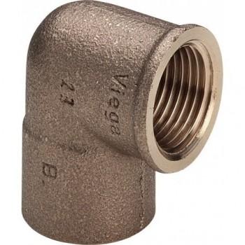 "94090G gomito 90° FR ø22x3/4""F bronzo a saldare 107581 - A saldare per tubo rame"