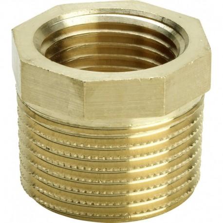 """3241 raccordo manicotto di riduzione ø1.1/4""""Mx1""""F bronzo lucido 266462 - In bronzo filettati"""