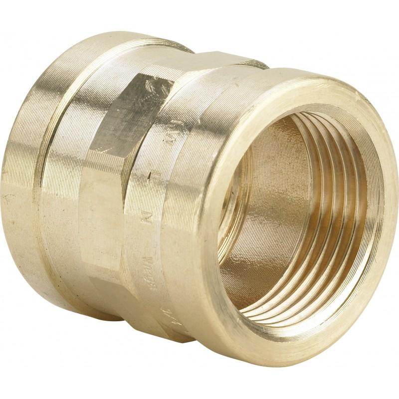 "3270 raccordo manicotto ø1.1/4""FF bronzo 266578 - In bronzo filettati"