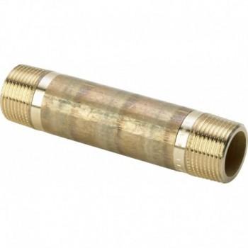 "3530 barilotto mm ø1/2""xL.120mm bronzo lucido 267346 - In bronzo filettati"