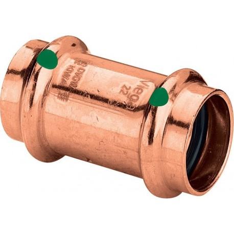 2415 manicotto con battente FF ø22 rame a pressare 292683 - A pressare in rame/bronzo per acqua