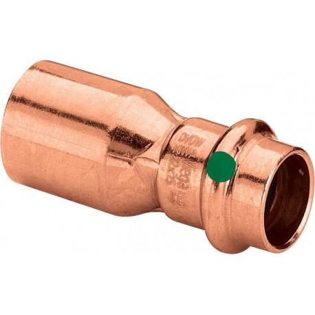 2415.1 riduzione MF ø18x15 rame a pressare 296407 - A pressare in rame/bronzo per acqua
