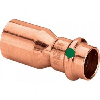 2415.1 riduzione MF ø28x22 rame a pressare 296506 - A pressare in rame/bronzo per acqua