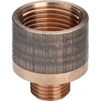 """3242 raccordo manicotto di riduzione ø3/4""""Mx1""""F bronzo lucido 335311"""