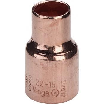 95240 riduzione FF ø22x12 rame a saldare 110758 - A saldare per tubo rame