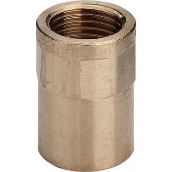 "94270G nipple filettatura Rp ø42x1.1/2""F bronzo a saldare 117597 - A saldare per tubo rame"