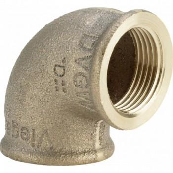 "3090 gomito 90° ø1""Fx3/4""F bronzo 320683 - In bronzo filettati"