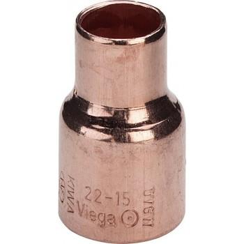 95240 riduzione FF ø22x16 rame a saldare 464363 - A saldare per tubo rame