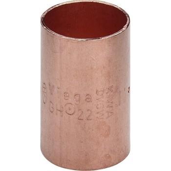 95270 manicotto con battente FF ø28 rame a saldare 100698 - A saldare per tubo rame