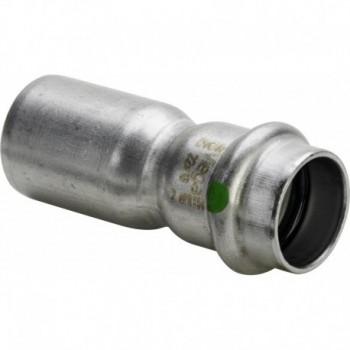 2315.1 RIDUZIONE MF ø22x15 INOX PRESS. 436230 - A pressare inox per acqua