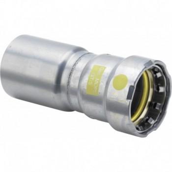 Manicotto di riduzione Megapress G 739928 - A pressare in acciaio