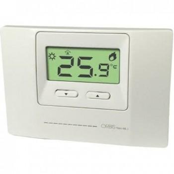 Orbis OB324400 - NEO ML + BIANCO Termostati Digitali Da Parete , funzionamento riscaldamento/condizionamento, due livelli imp...