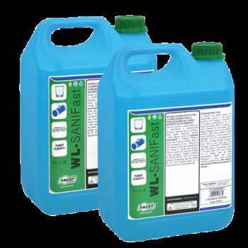 WL-SANIFAST PROD. A + B TANICHE 20 LT+20 LT WLSANIK020 - Detergenti