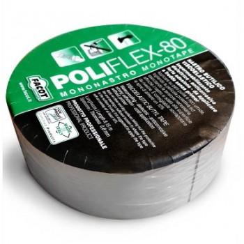 POLIFLEX-80 NASTRO ADES. BUTIL. H.50mmx9,15m POLIOTT0050 - Guaine/Impermeabilizzanti