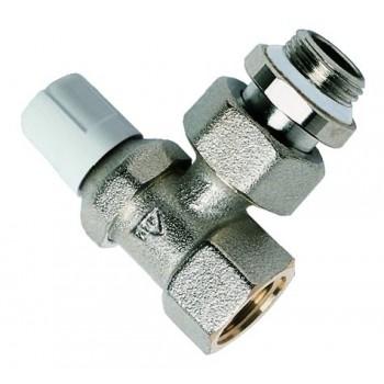 etentore di regolazione ad angolo per tubo ferro, Misura: 3/8 00090300 - Per corpi scaldanti