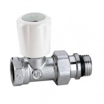 """402 Valvola termostatizzabile, attacchi diritti, per tubo in ferro ø1"""" 402603 - Per corpi scaldanti"""