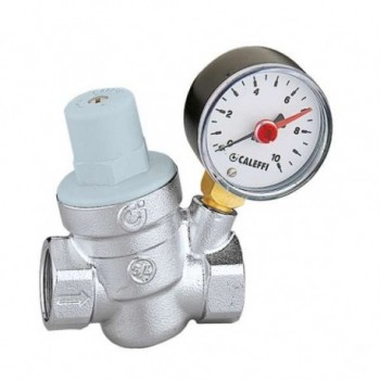 """5332 Riduttore di pressione inclinato. Con manometro ø1/2"""" 533241 - Riduttori di pressione"""
