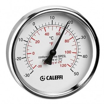 """687 Termometro per raffrescamento, attacco posteriore 1/2"""" L.45 mm 687000 - Sicurezza/Vasi/Centrale termica"""