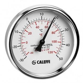 """687 Termometro per raffrescamento, attacco posteriore 1/2"""" L.100 mm 687010 - Sicurezza/Vasi/Centrale termica"""