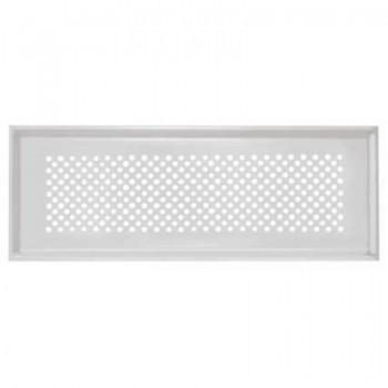 Griglia design Zehnder Pisa 350 x 130 mm per CLF - Finitura bianco 990322082 - Ventilazione