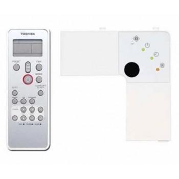 Toshiba Kit comando + ricevitore infrarossi per climatizzatore a Cassetta Standard (commerciale) RBC-AX32U(W)-E - Accessori