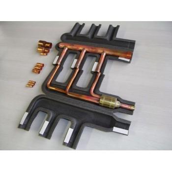 Toshiba Giunto per configurazioni TRIPLE con unità esterna taglia 160-224-280 RBC-TRP100E - Condizionatori autonomi
