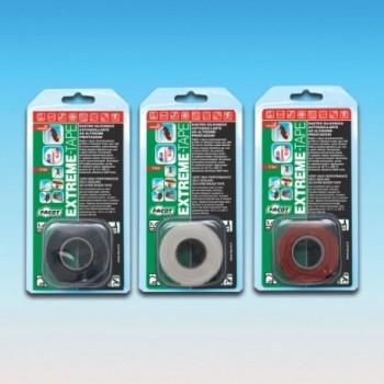 EXTREME-TAPE BLISTER NASTRO BIANCO 25,4mmx3m EXTBI2503 - Nastri/Bende/Trecce
