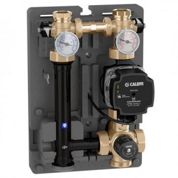 "166 Gruppo di regolazione termostatica per impianti di riscaldamento ø1"" F POMPA ALPHA2L25-60 166605A2L - Moduli di utenza"