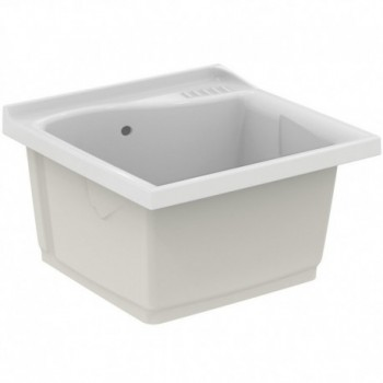 LAGO lavatoio da incasso 61x60cm bianco (SOLO LAVATOIO) J089300 - Lavatoi